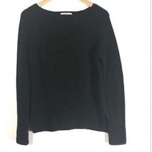 Everlane Sweater Black Knit Pullover S11